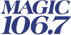 Magic 106.7 logo
