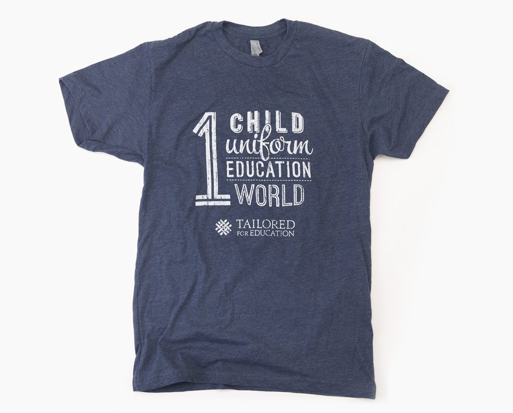 The One World Tee by Tailored For Education
