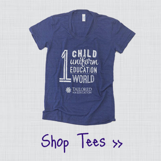 Tailored for Education One World Tee